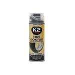 K2 Tire Doktor za lepljenje guma sprej 400ml