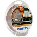 Philips 12V H4 60/55W +40% Moto Vision