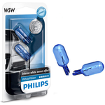 Philips 12V W5W White Vision  2kom.