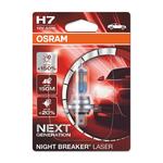 Osram auto sijalica Night Breaker Laser 12V H7 55W Next Generation +150% Blister