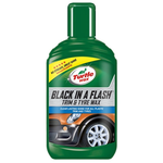 Turtle Wax Black in a Flash vosak za održavanje delova od plastike i gume 300ml