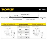 Monroe amortizer gepeka ML5031 Opel Kadett E/Daewoo Nexia