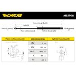 Monroe amortizer gepeka ML5106 VW Transporter III