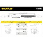 Monroe amortizer gepeka ML5146 Peugeot 206 Hatchback/Van/206+