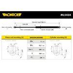 Monroe amortizer gepeka ML5434 Rover 25/200