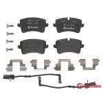 Brembo P 85 119 pločice za zadnje kočnice Audi A4/A5/A6/A7
