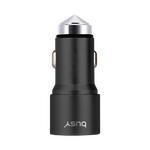 Busy USB punjač telefona za auto 3,4A bez kabla sa sigurnosnim čekićem 50703