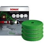 Sonax Sunđer za poliranje zeleni srednje tvrd 85mm 4 komada