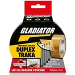 Gladiator Duplex obostrano lepljiva traka 50mmx5m