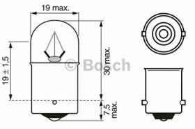 Bosch Trucklight auto sijalica 24V R5W
