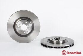 Brembo 09.A444.40 kočioni diskovi par Fiat 500L/Doblo/Opel Combo