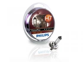 Philips 12V H7 55W +60% Vision Plus 2kom