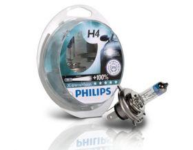 Philips 12V H4 60/55W +130% X-Treme Vision  2kom