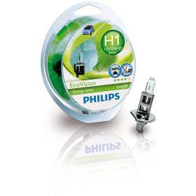 Philips 12V H1 55W +40% Eco Vision Long Life 2kom.