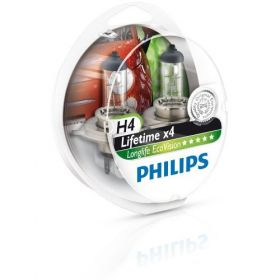 Philips 12V H4 60/55W +40% Eco Vision Long Life  2kom.