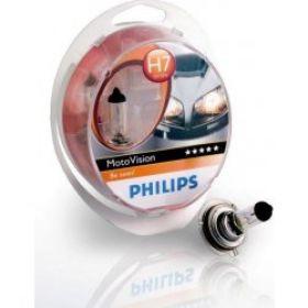 Philips 12V H7 55W +40% Moto Vision
