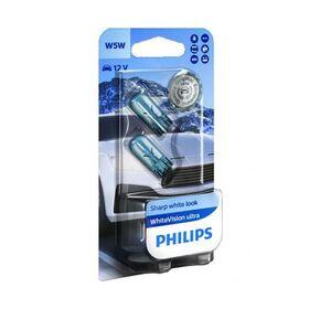 Philips 12V W5W White Vision Ultra 2kom