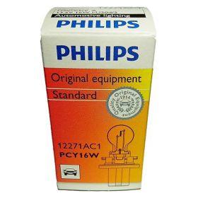 Philips 13.5V PCY16W PU20d/2 Hiper Click sa postoljem žuta