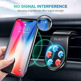 Busy magnetni držač za mobilni telefon crni 50687