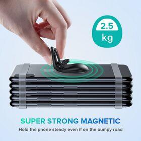 Busy magnetni držač za mobilni telefon srebrni 506871